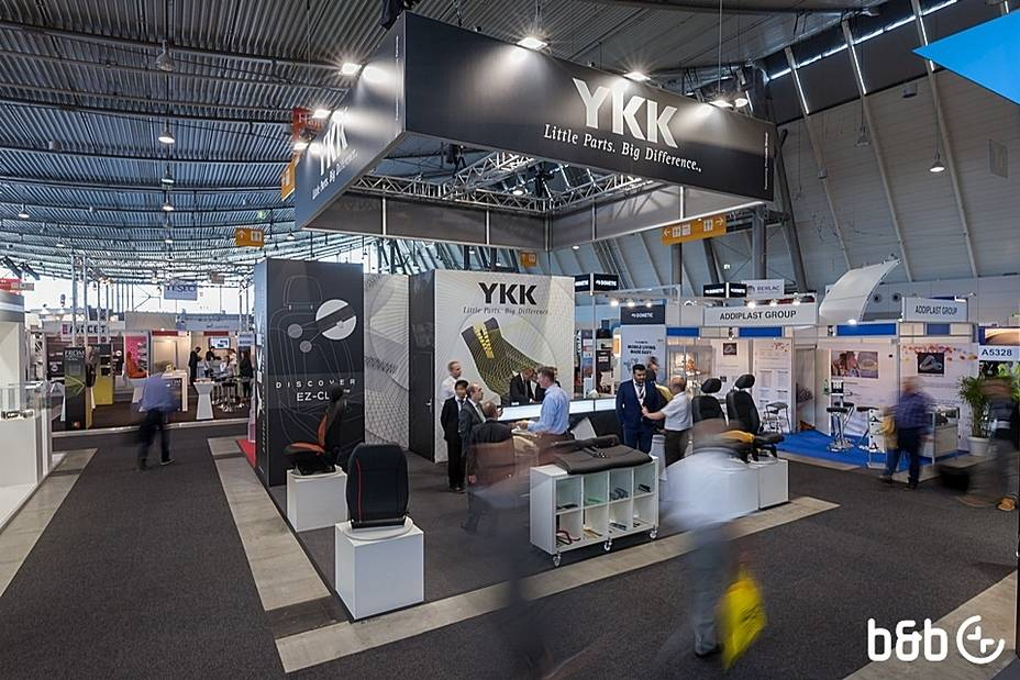 b&b - automotive interiors EXPO, Stuttgart / YKK